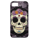 Vintage Skull and Roses iPhone 5 Case-Mate Tough iPhone 5 Cases