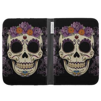 Vintage Skull and Roses Kindle Case