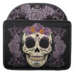 Vintage Skull and Roses MacBook Pro Sleeves