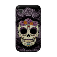 Vintage Skull and Roses Samsung Galaxy Case casematecase