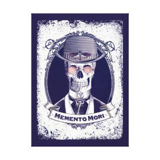 Vintage Skull Art Memento Mori canvas