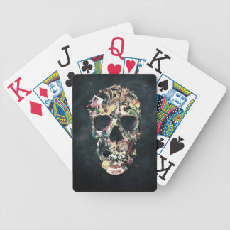 Vintage Skull Bicycle Playing Cards
