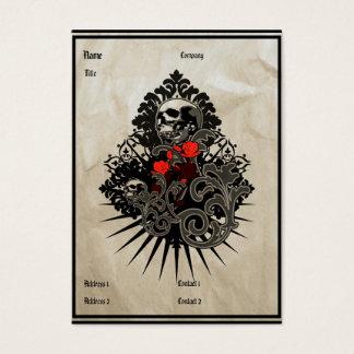 Vintage Skull - Business Card
