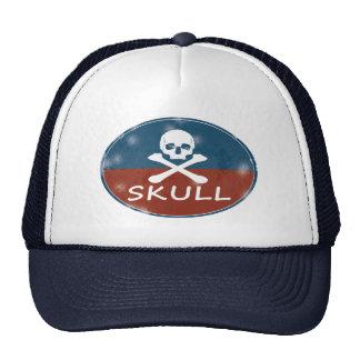 Vintage Skull Cap Trucker Hat