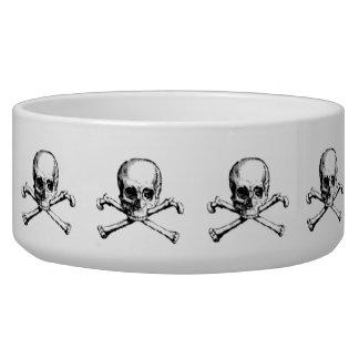 Vintage Skull & Crossbones Bowl