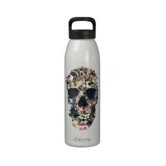 Vintage Skull Drinking Bottles