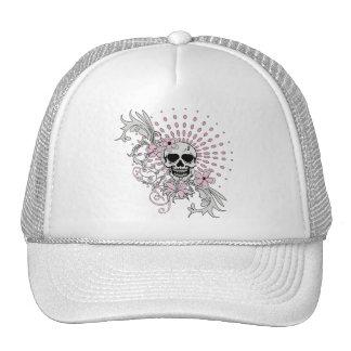 Vintage Skull Trucker Hat