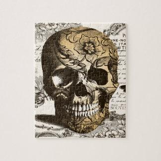 Vintage Skull Jigsaw Puzzle
