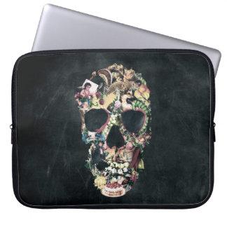 Vintage Skull Laptop Computer Sleeve