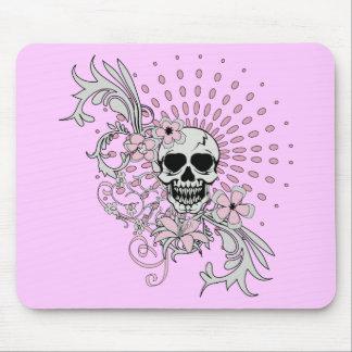 Vintage Skull Mouse Pad
