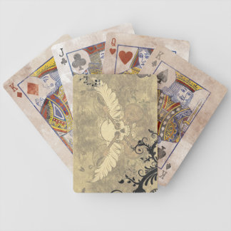 Vintage Skull Playing Cards