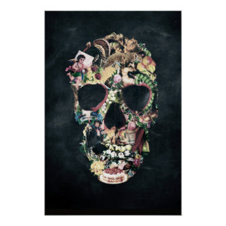 Vintage Skull Posters