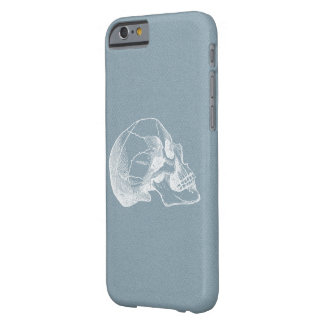 Vintage Skull Profile Illustration Barely There iPhone 6 Case