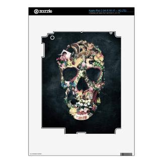 Vintage Skull Skins For iPad 3