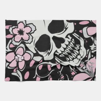 Vintage Skull Towel