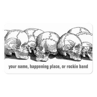 Vintage Skulls Business Card