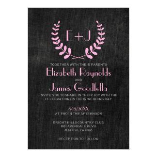 Vintage Slate Wedding Invitations