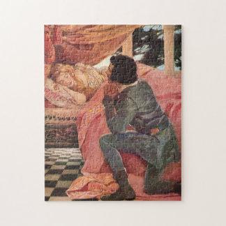 Vintage Sleeping Beauty by Jessie Willcox Smith Jigsaw Puzzle