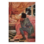 Vintage Sleeping Beauty by Jessie Willcox Smith Posters