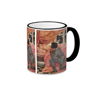 Vintage Sleeping Beauty by Jessie Willcox Smith Ringer Mug