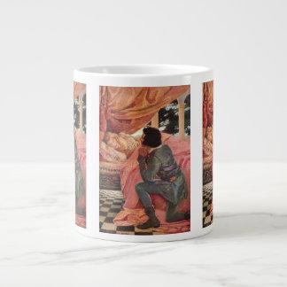 Vintage Sleeping Beauty by Jessie Willcox Smith Extra Large Mug