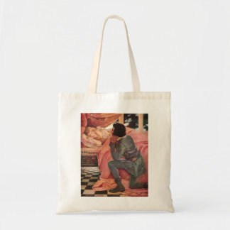 Vintage Sleeping Beauty by Jessie Willcox Smith Tote Bag