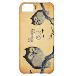 Vintage Sleepy Owl Cover For iPhone 5C