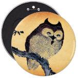 Vintage Sleepy Owl Pins