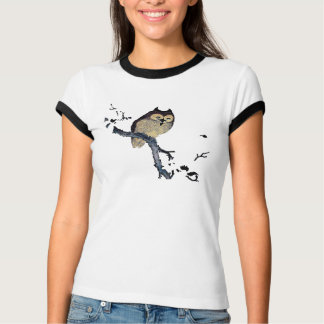 Vintage Sleepy Owl T-Shirt