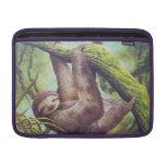 Vintage Sloth Illustration MacBook Air Sleeves