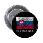 Vintage Slovakia 2 Inch Round Button