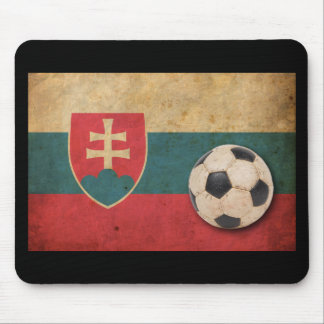 Vintage Slovakia Football Mouse Pad