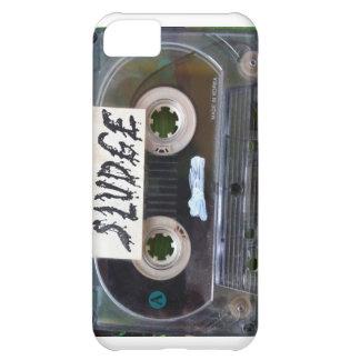vintage sludge cassette by sludgeart cover for iPhone 5C