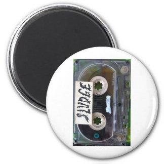 vintage sludge cassette by sludgeart magnets