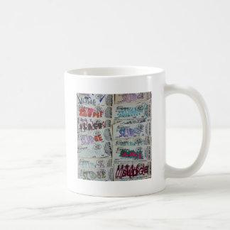 vintage sludge ticket stubby SLUDGEart Coffee Mugs