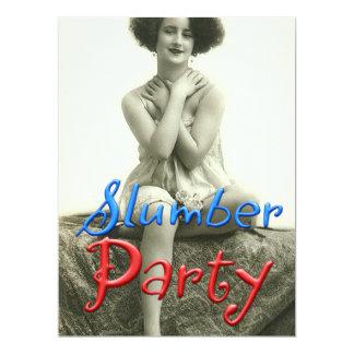 Vintage Slumber Party Card