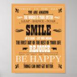 Vintage Smile Poster