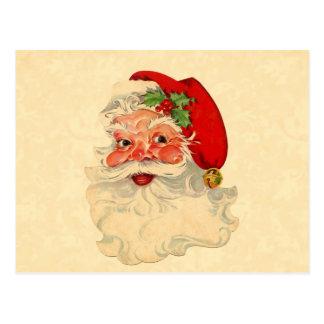Vintage Smiling Santa Christmas Holiday Gift Item Post Card