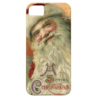 Vintage Smiling Santa Christmas iPhone SE/5/5s Case
