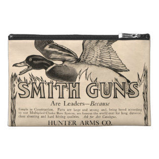 Vintage Smith Firearm Gun Duck Hunting Travel Bag Travel Accessory Bag