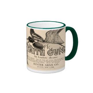 Vintage Smith Guns Firearms Duck Hunter Coffee Mug