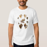 Vintage Snails and Mollusks, Marine Life Organisms Tee Shirt