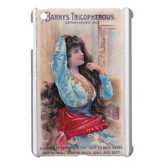Vintage Snakeoil Hair Growth Ad Art ipad cover