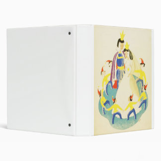 Vintage Snow White and the Seven Dwarfs Poster Binder