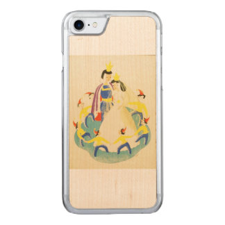 Vintage Snow White and the Seven Dwarfs Poster Carved iPhone 8/7 Case