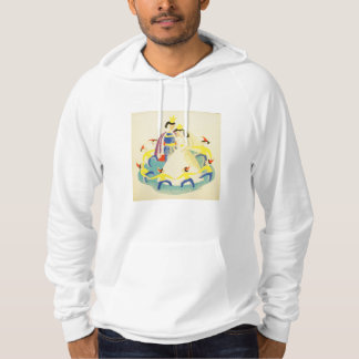 Vintage Snow White and the Seven Dwarfs Poster Hoodie
