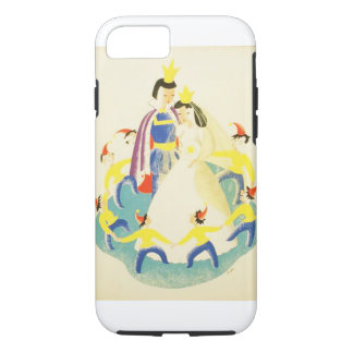 Vintage Snow White and the Seven Dwarfs Poster iPhone 8/7 Case