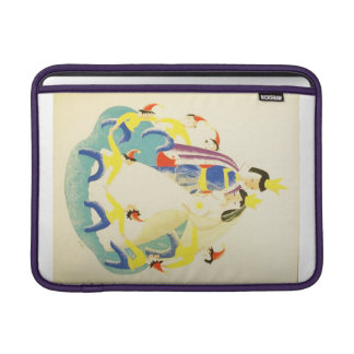 Vintage Snow White and the Seven Dwarfs Poster MacBook Sleeve