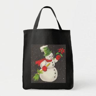 Vintage Snowman Bag