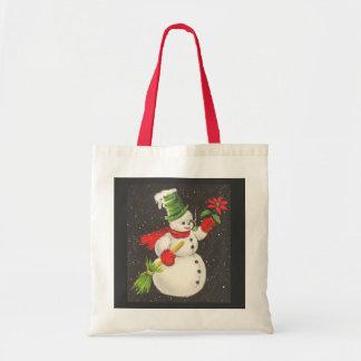 Vintage Snowman Bags